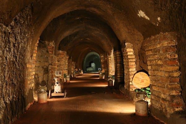Cantina antica - Tenuta di Pietra Porzia