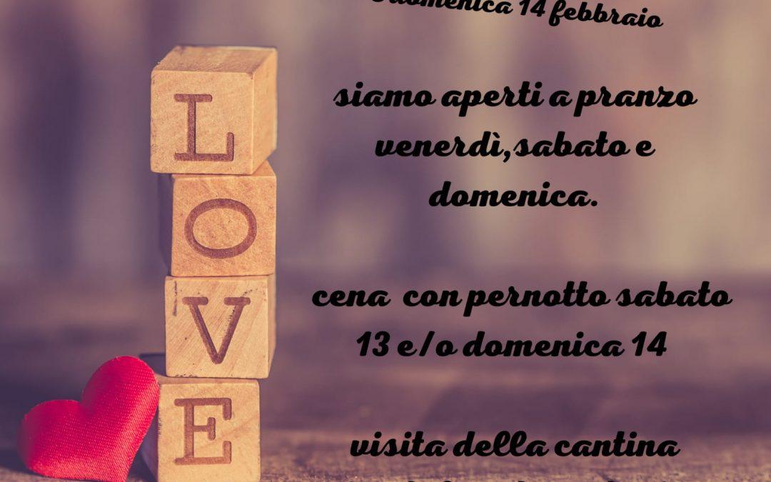 San valentino a Roma in agritusimo